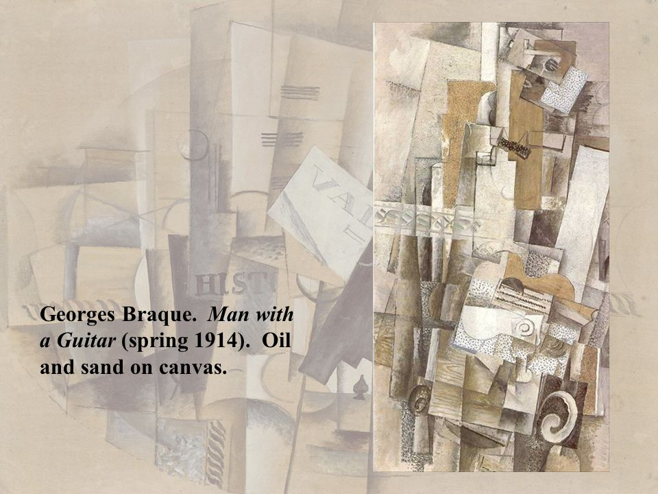 Georges Braque. Man with