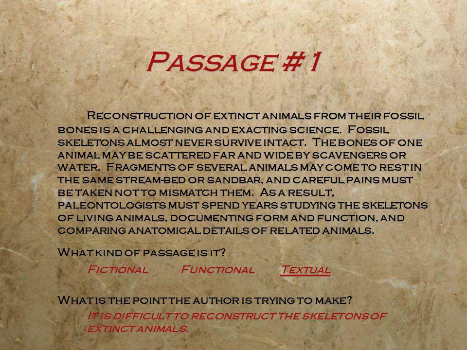 Passage #1