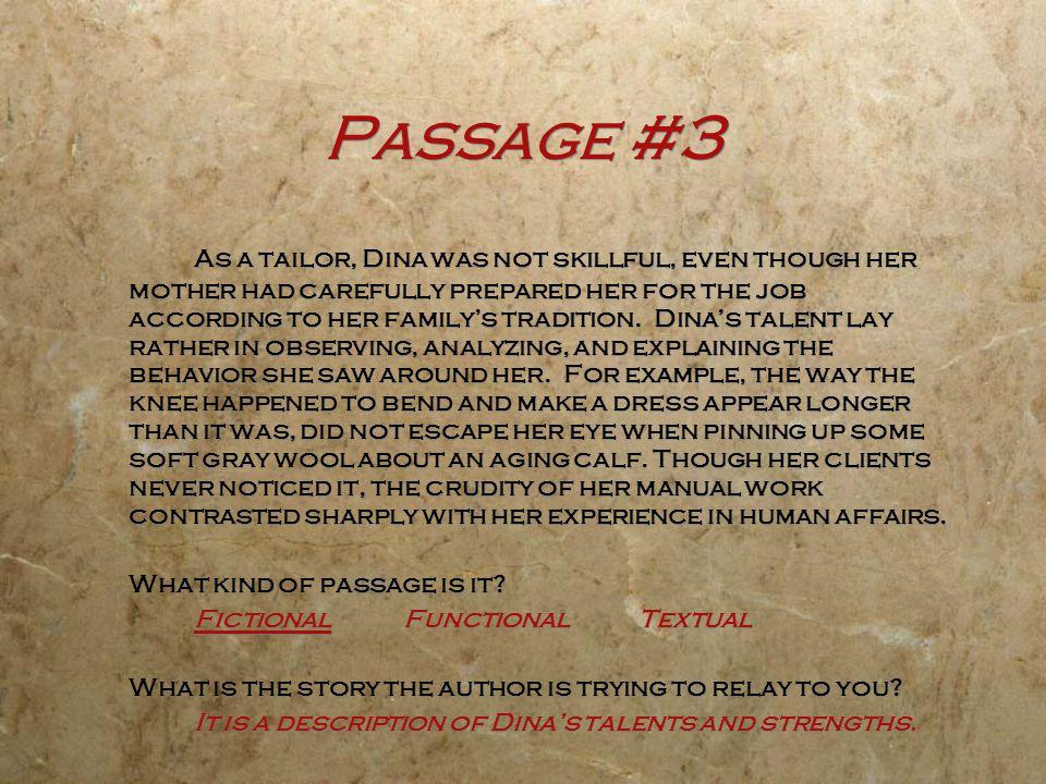 Passage #3