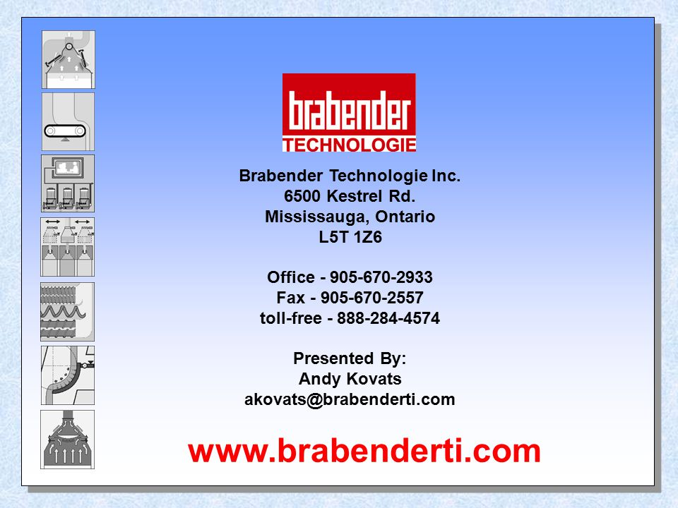 Brabender Technologie Inc.