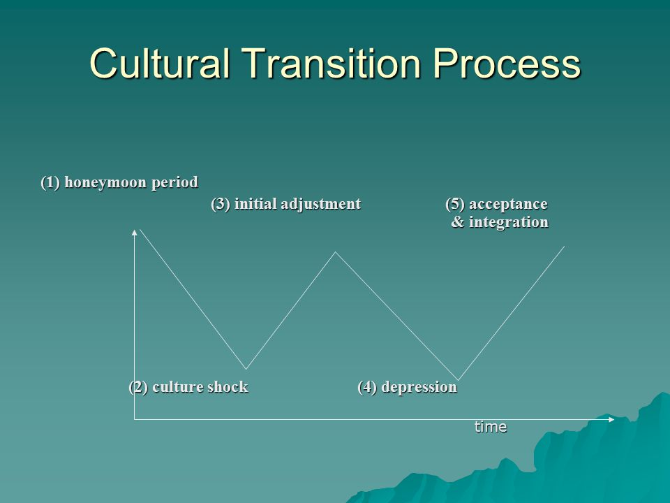Cultural Transition Process