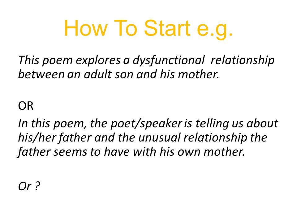 How To Start e.g.