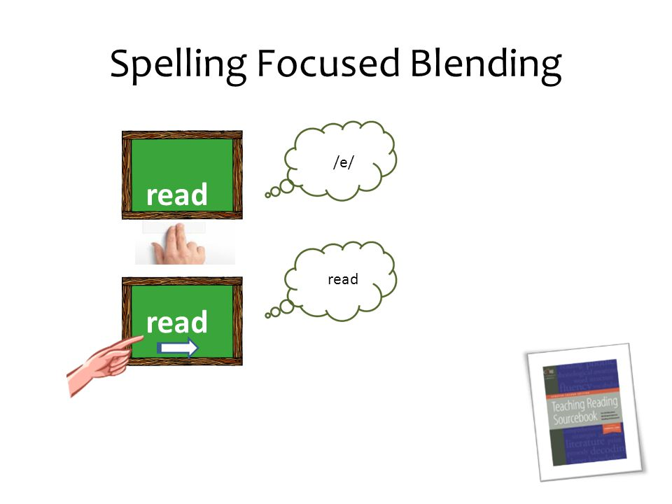 Spelling Focused Blending