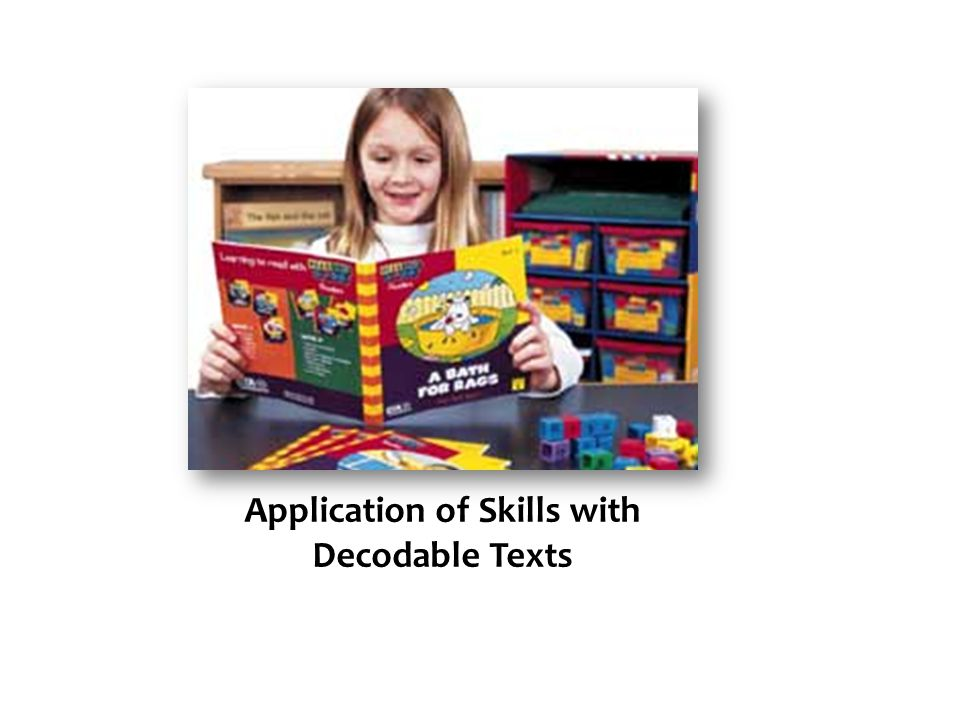 Application of Skills with Decodable Texts