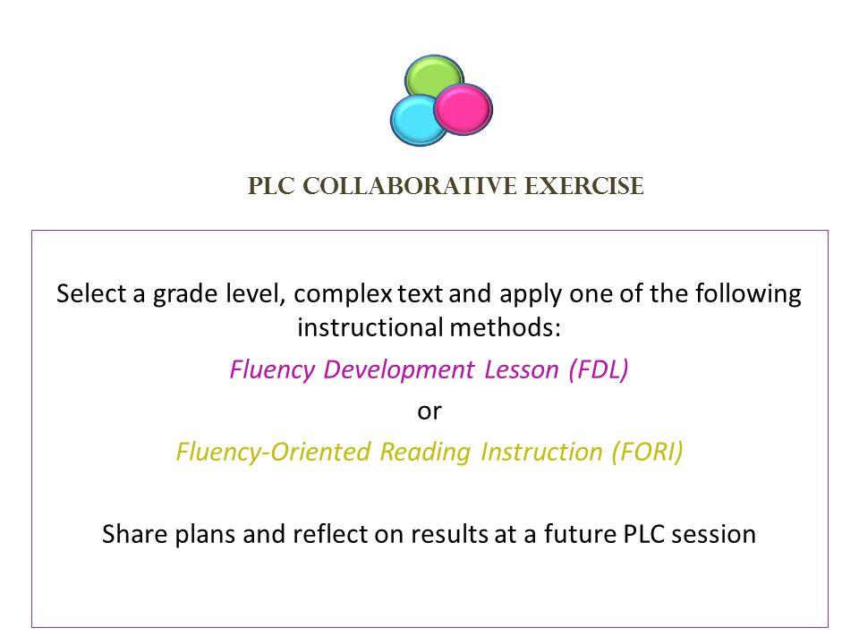 PLC Collaborative Exercise