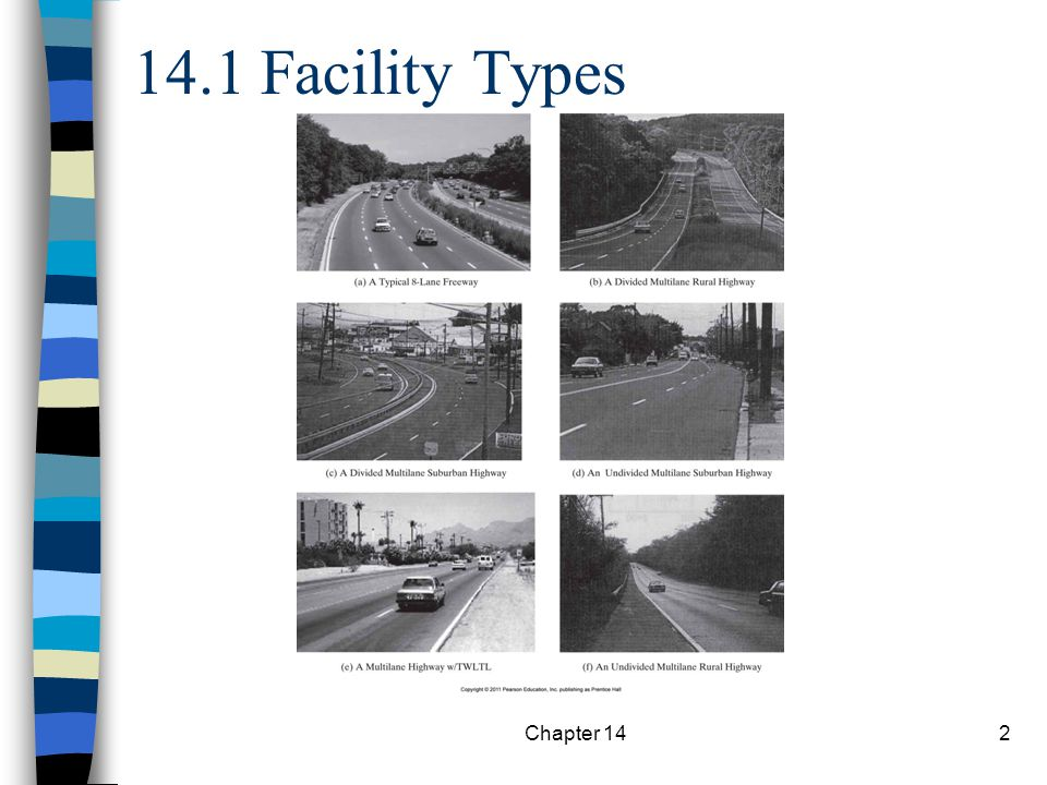 14.1 Facility Types Chapter 14