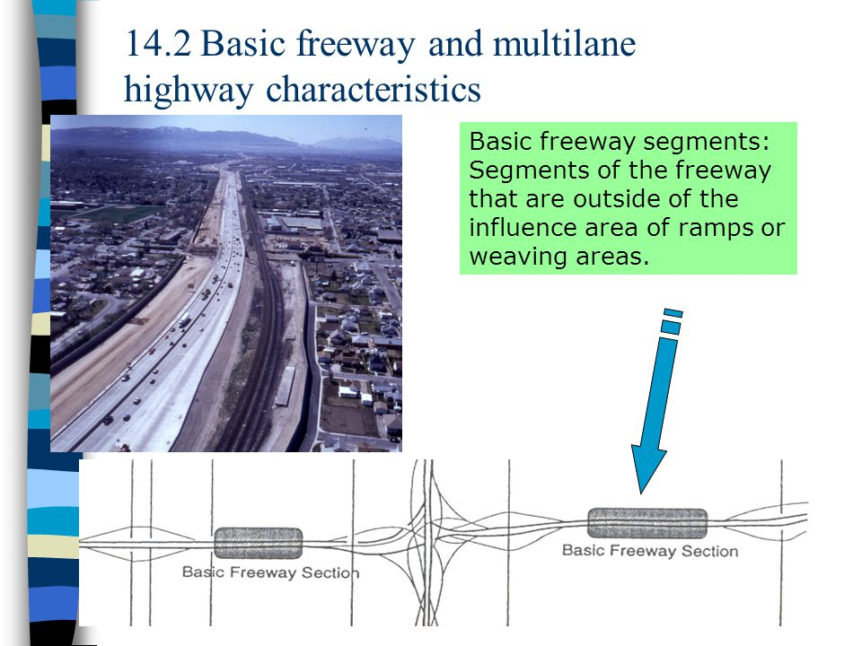14.2 Basic freeway and multilane highway characteristics