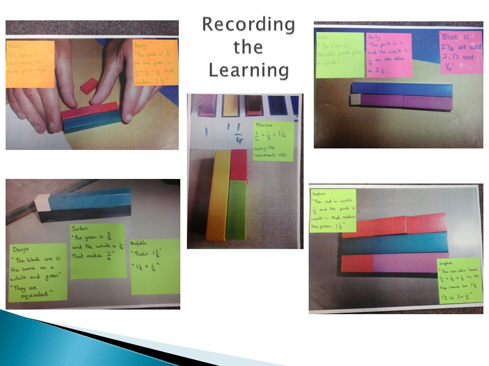Recording the Learning
