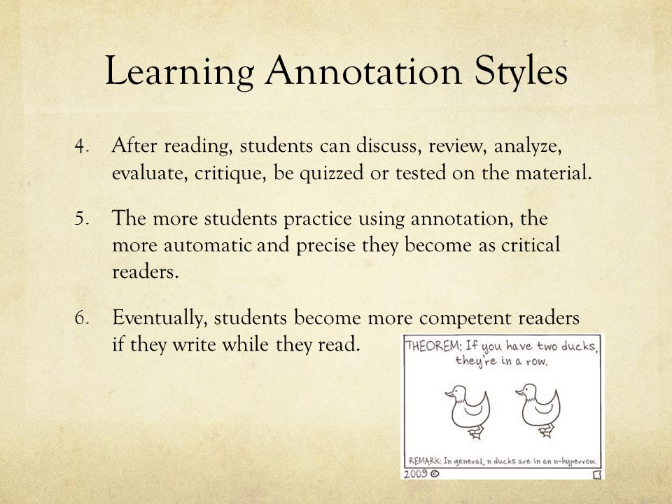 Learning Annotation Styles
