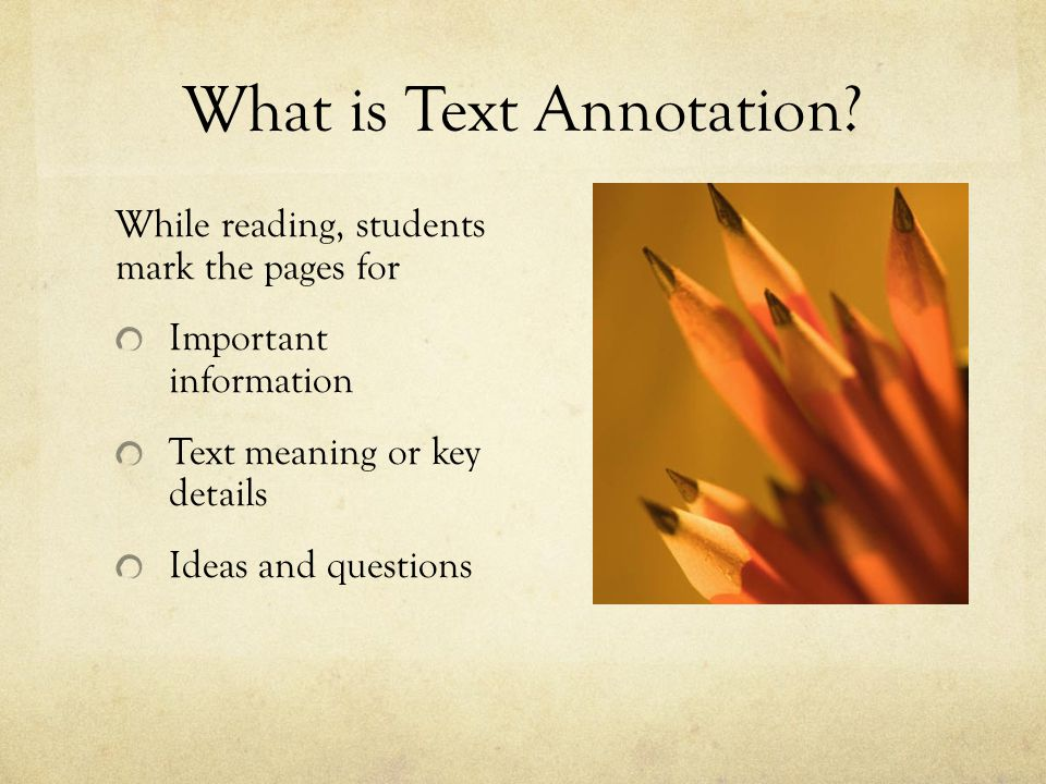 What is Text Annotation