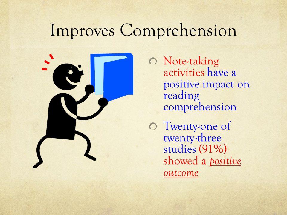 Improves Comprehension