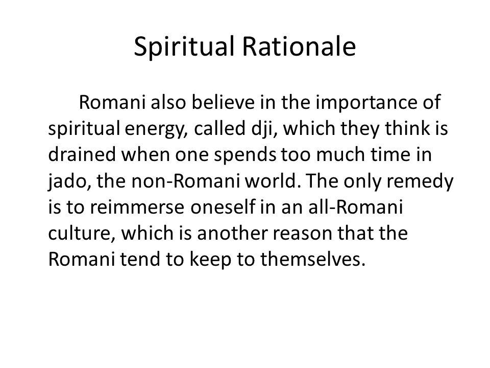 Spiritual Rationale