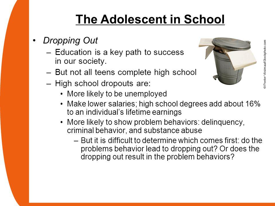 The Adolescent in School