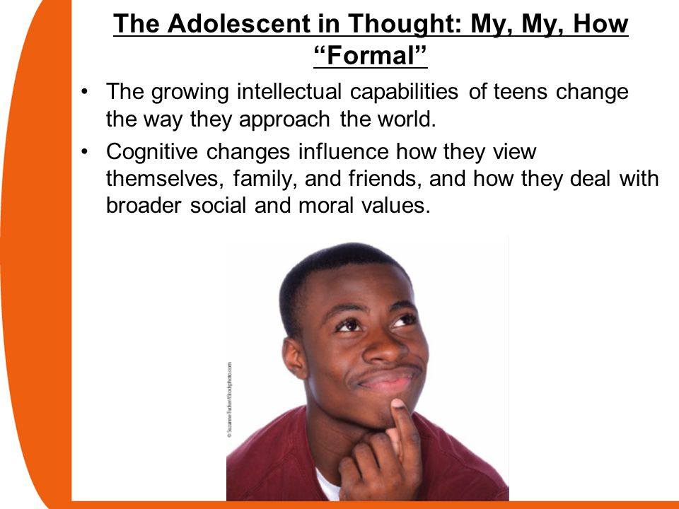 my adolescence and my cognitive development The human brain undergoes intricate and prolonged maturation processes that extend to late adolescence and beyond the structural and functional changes of the brain underlie the immense development of cognition from early childhood to adulthood.