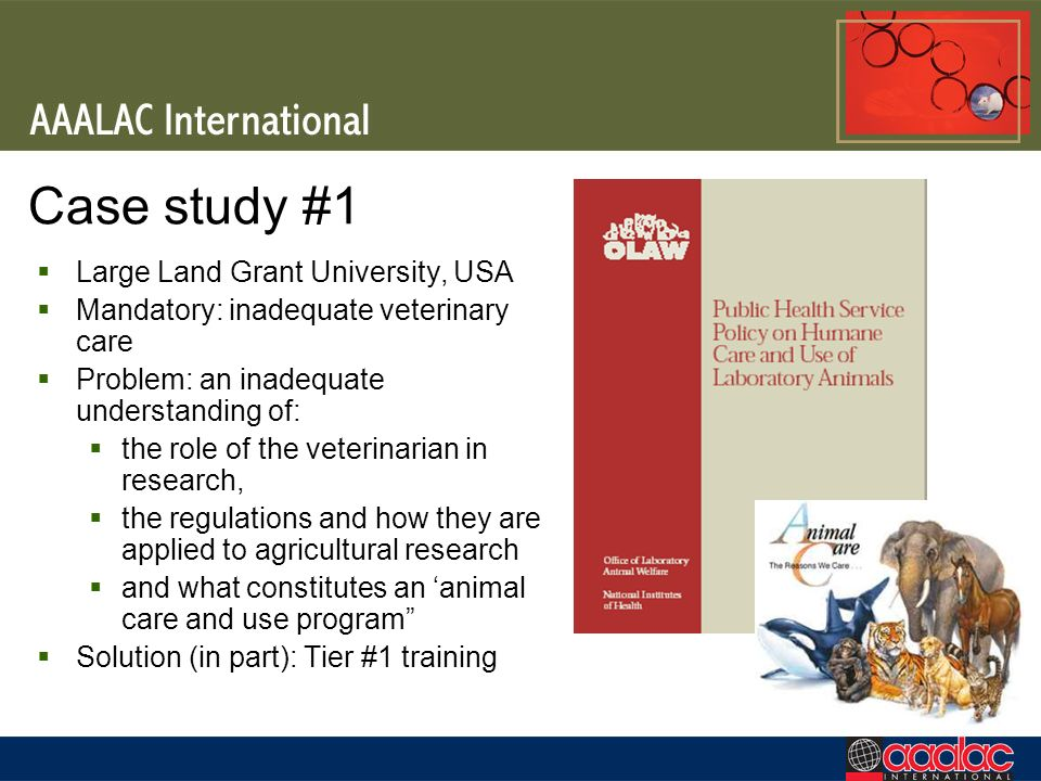 Case study #1 Large Land Grant University, USA