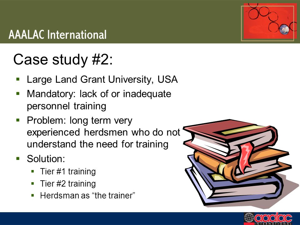 Case study #2: Large Land Grant University, USA
