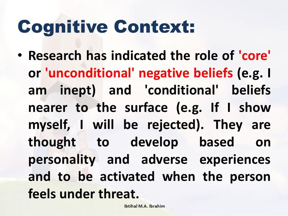 Cognitive Context: