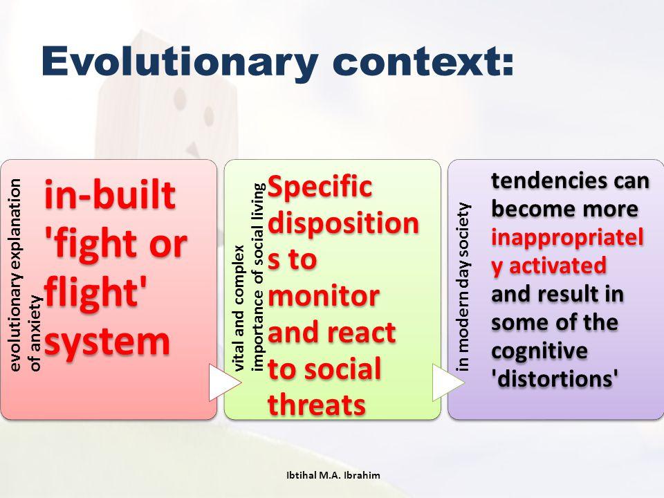 Evolutionary context: