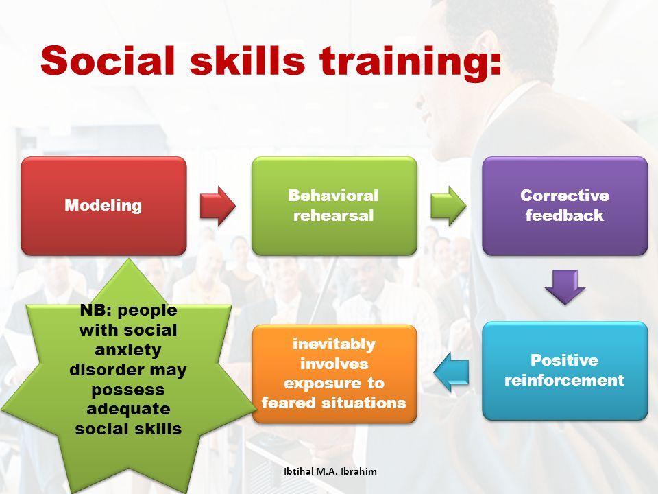 Social skills training:
