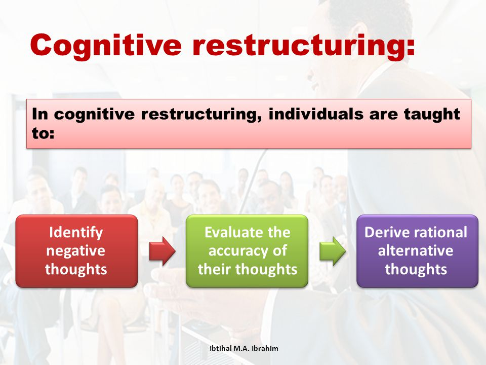 Cognitive restructuring: