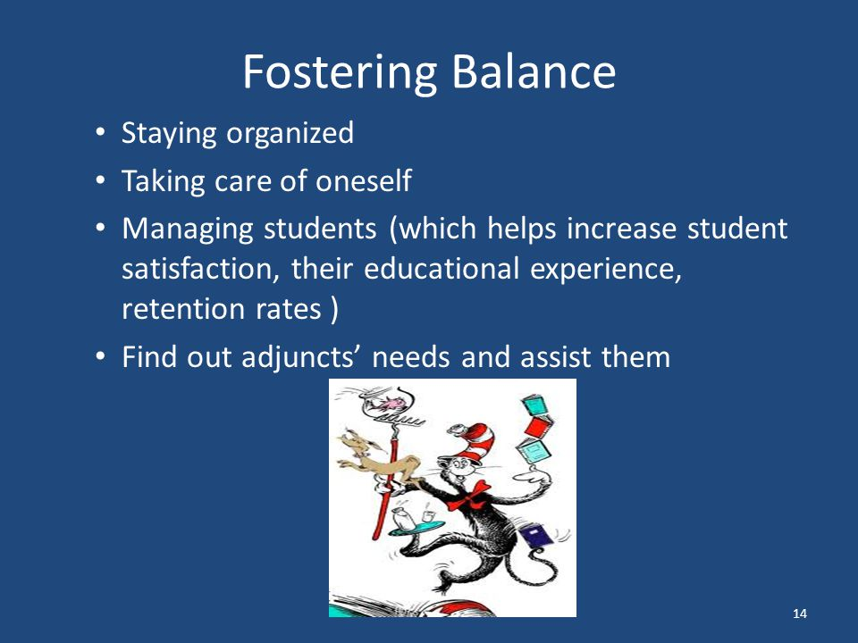 Fostering Balance Staying organized Taking care of oneself