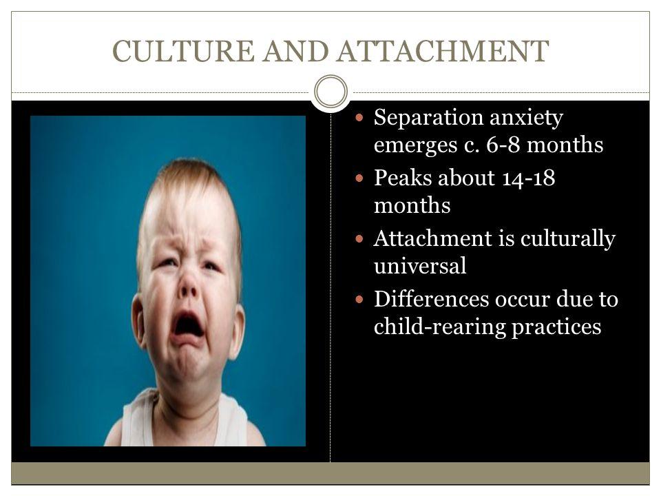 CULTURE AND ATTACHMENT