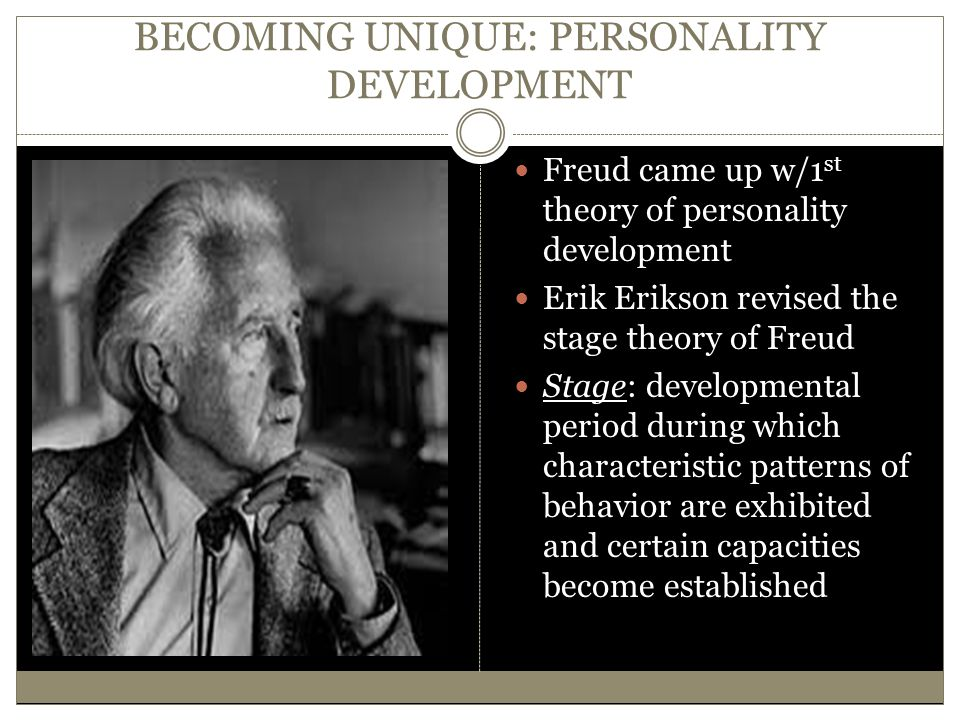 BECOMING UNIQUE: PERSONALITY DEVELOPMENT