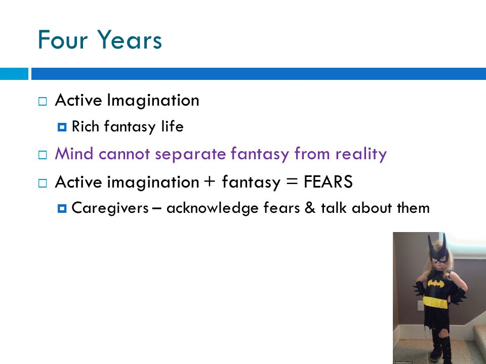 Four Years Active Imagination