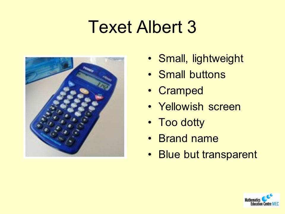 Texet Albert 3 Small, lightweight Small buttons Cramped