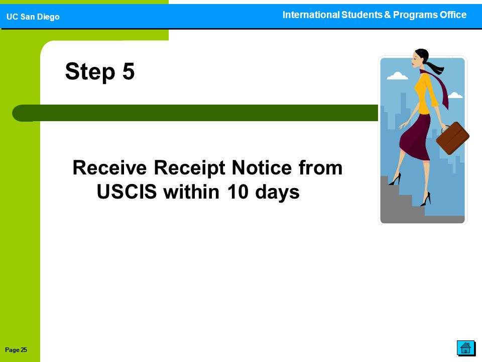 Step 5 Receive Receipt Notice from USCIS within 10 days