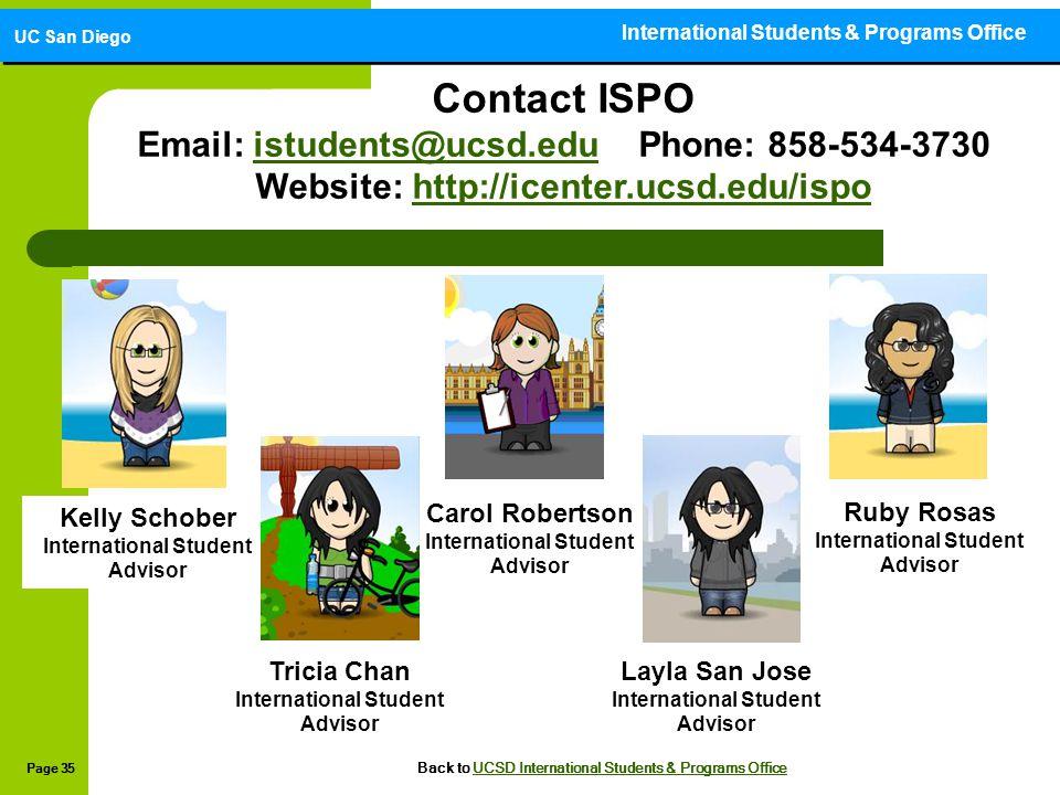 International Students & Programs Office
