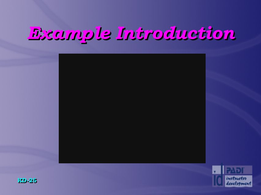 Example Introduction
