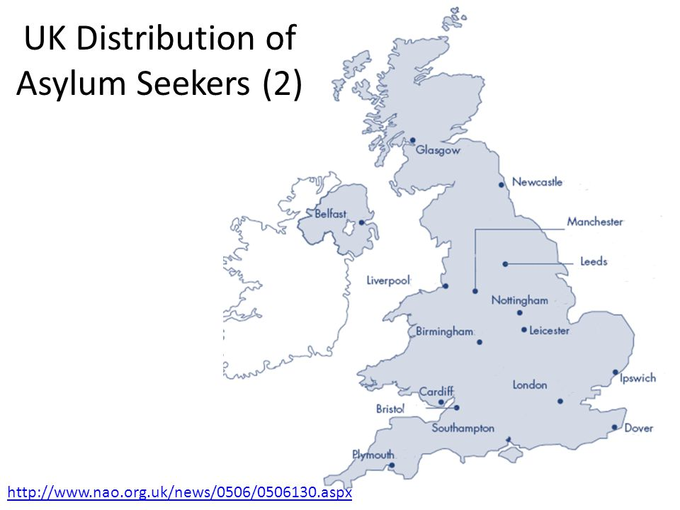 UK Distribution of Asylum Seekers (2)