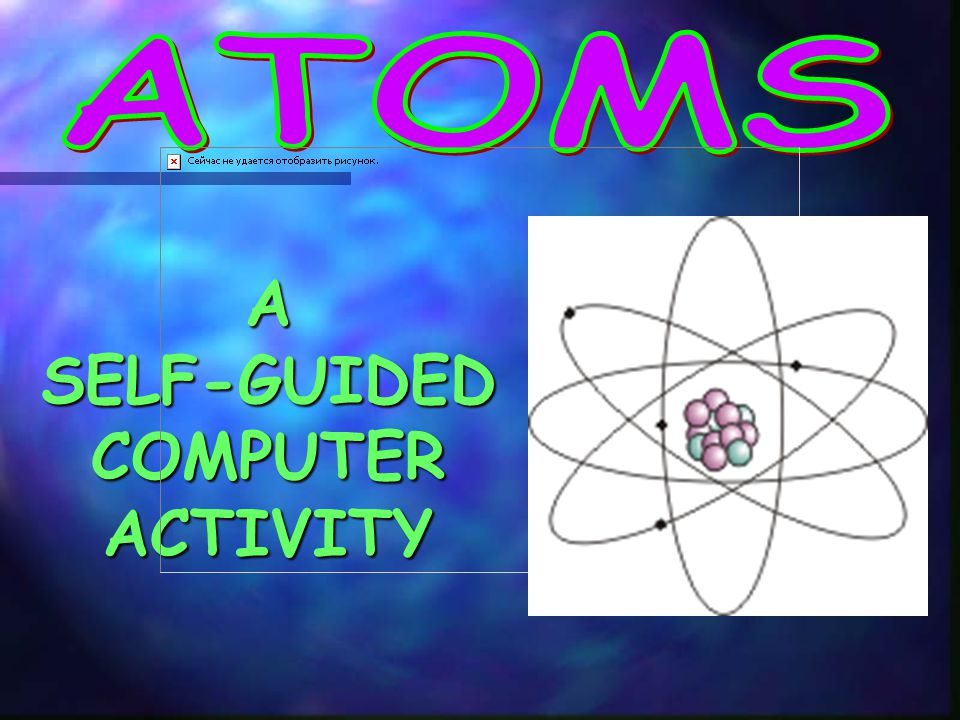 A SELF-GUIDED COMPUTER ACTIVITY