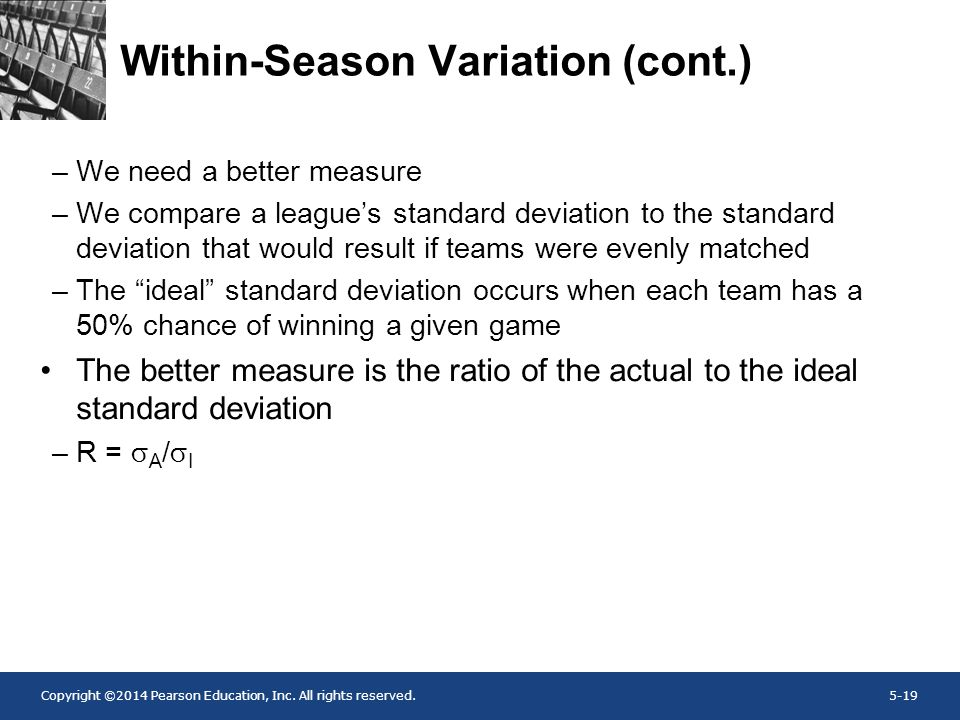 Within-Season Variation (cont.)
