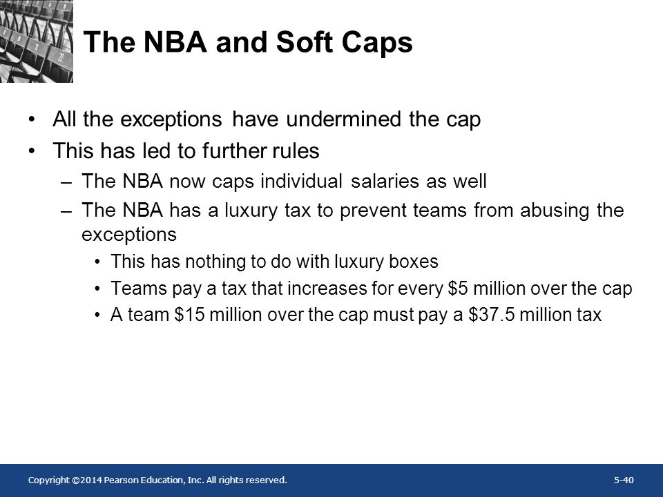 The NBA and Soft Caps All the exceptions have undermined the cap