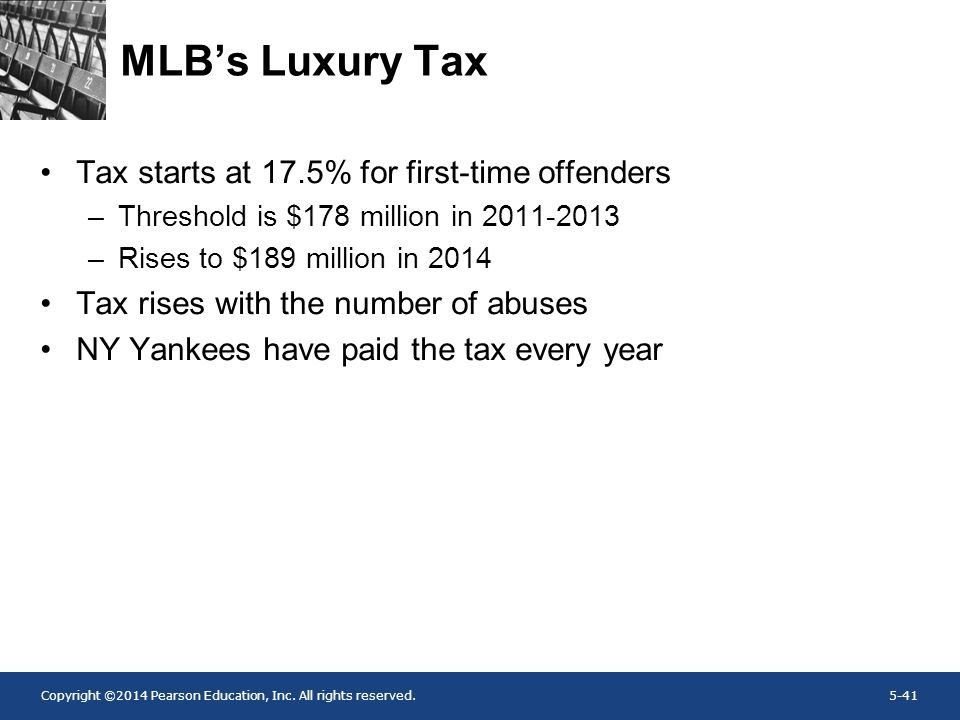MLB's Luxury Tax Tax starts at 17.5% for first-time offenders
