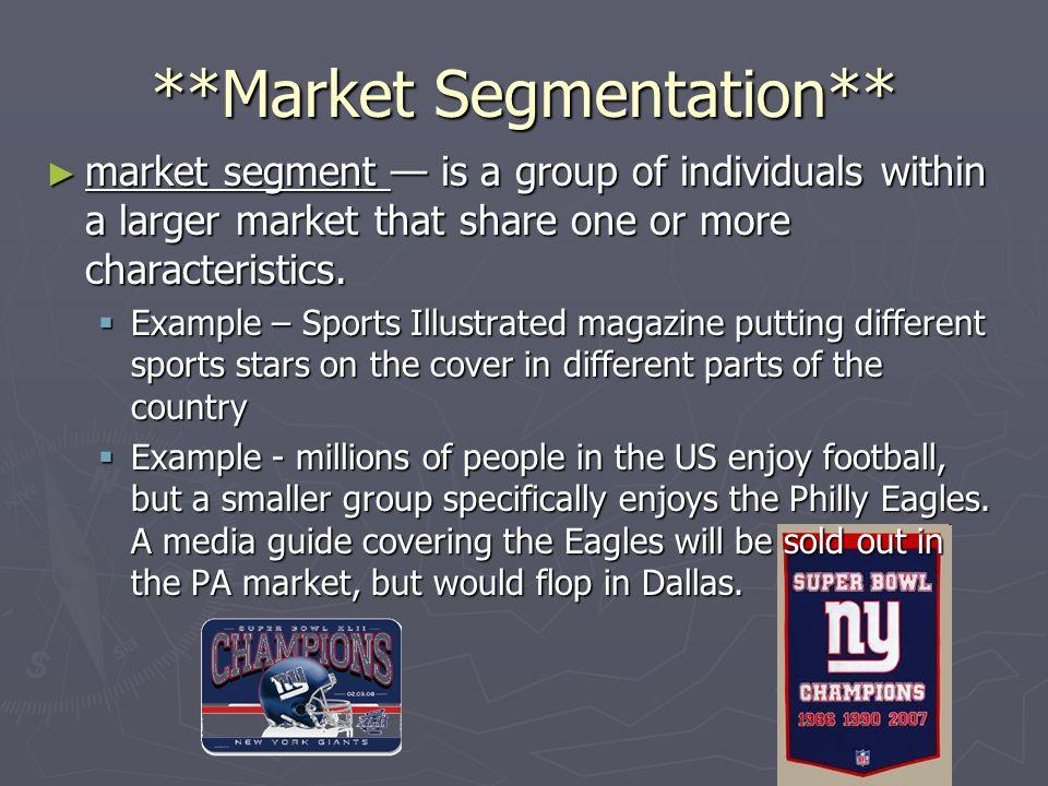 **Market Segmentation**