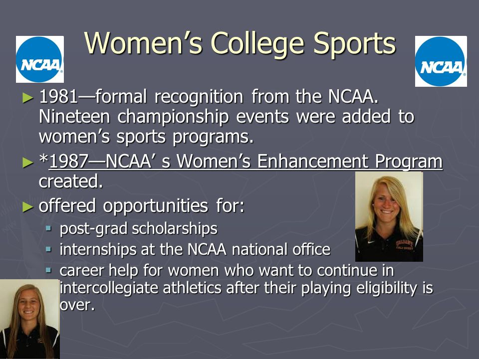 Women's College Sports