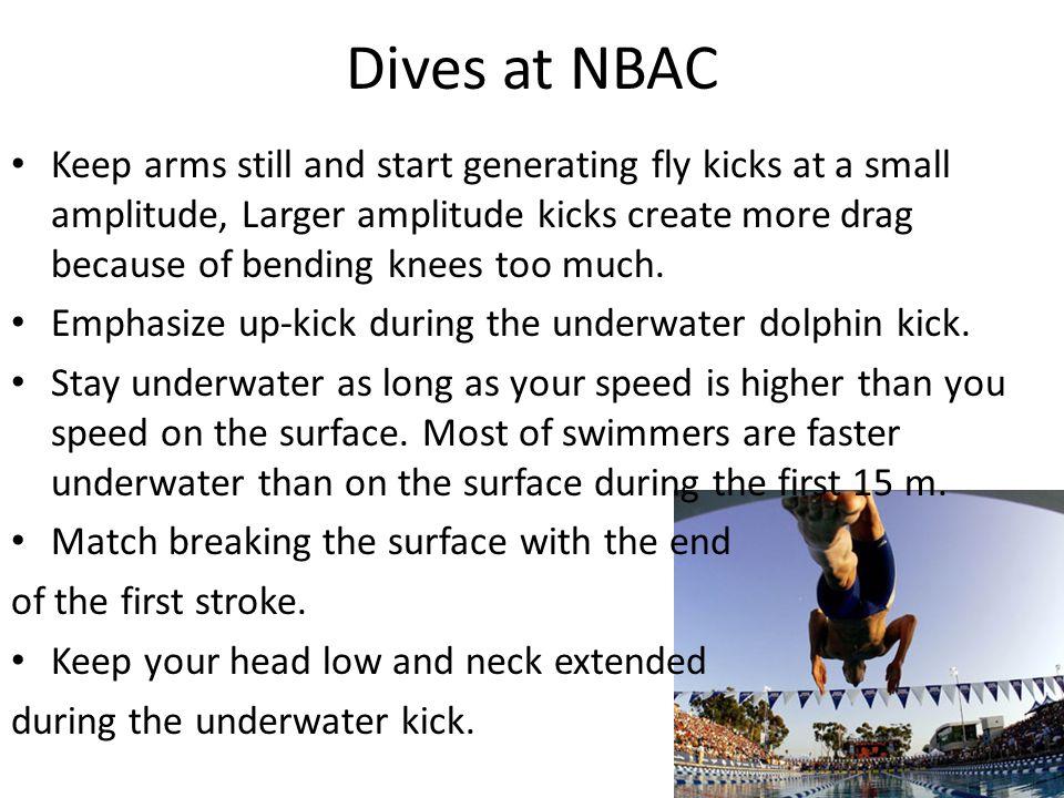 Dives at NBAC
