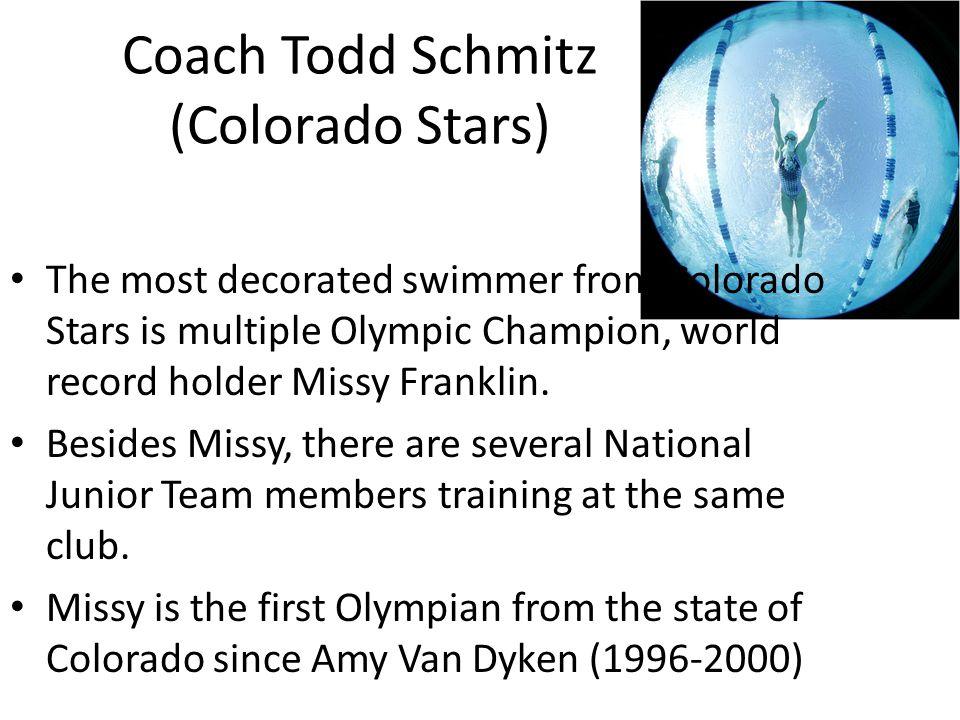 Coach Todd Schmitz (Colorado Stars)