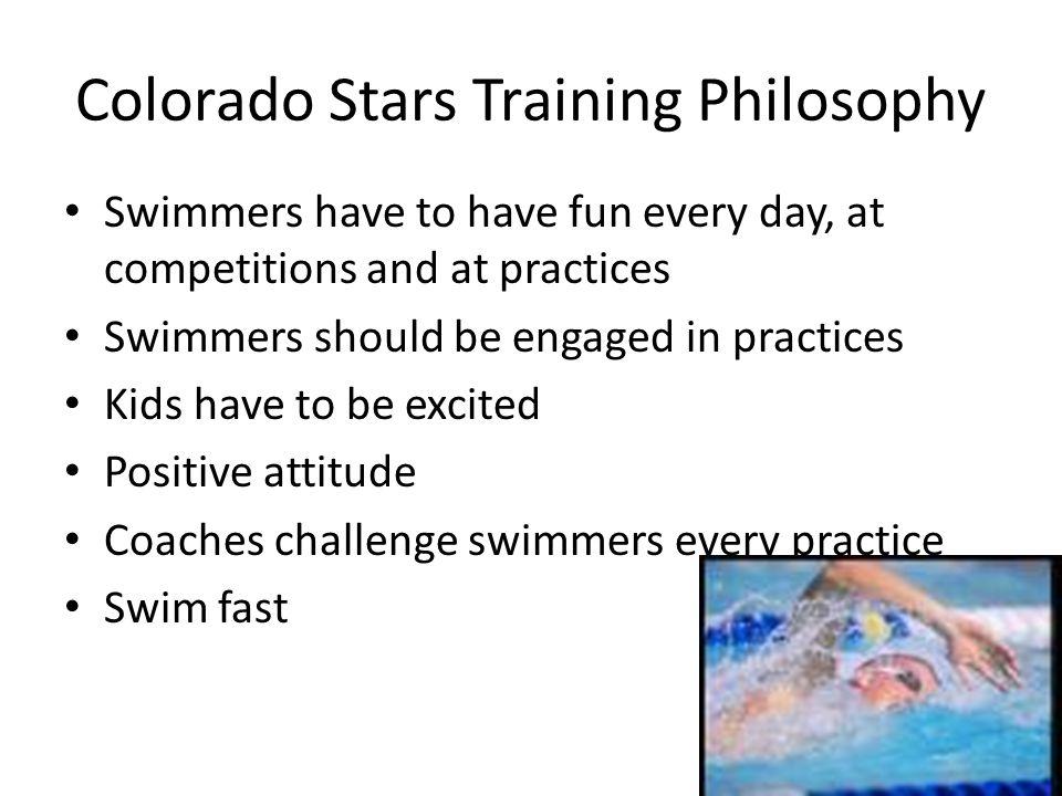 Colorado Stars Training Philosophy