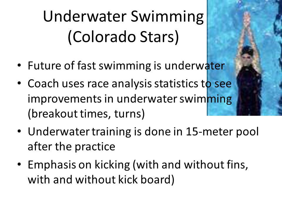 Underwater Swimming (Colorado Stars)