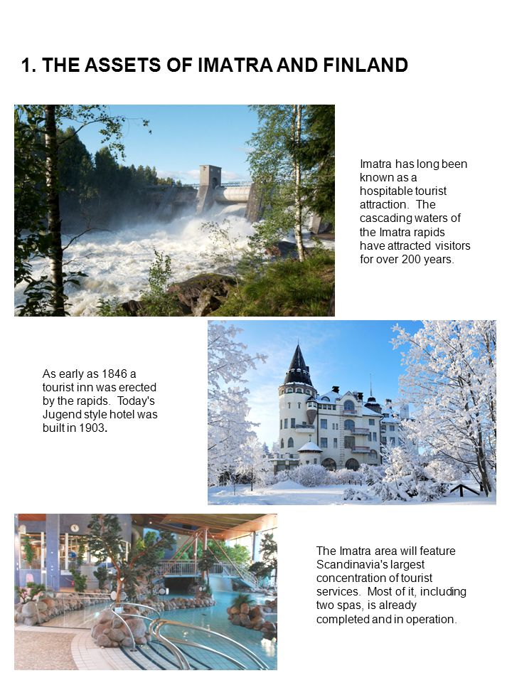 1. THE ASSETS OF IMATRA AND FINLAND