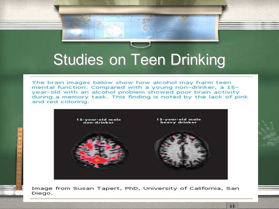 Studies on Teen Drinking