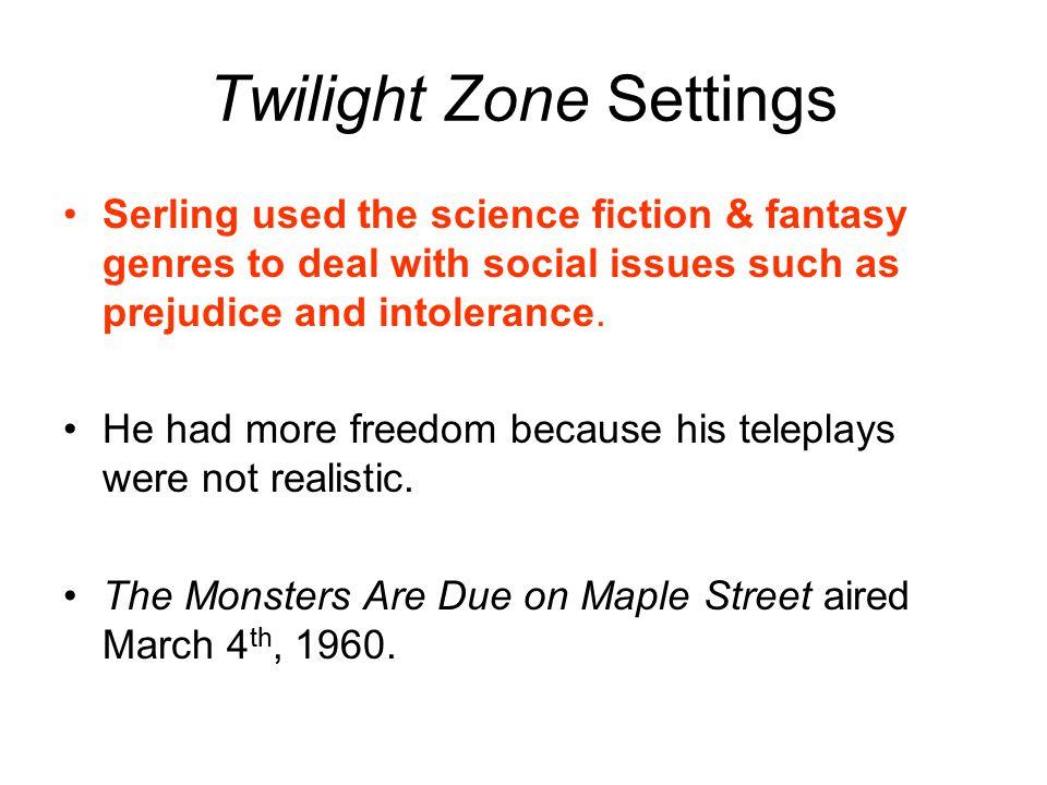 Twilight Zone Settings