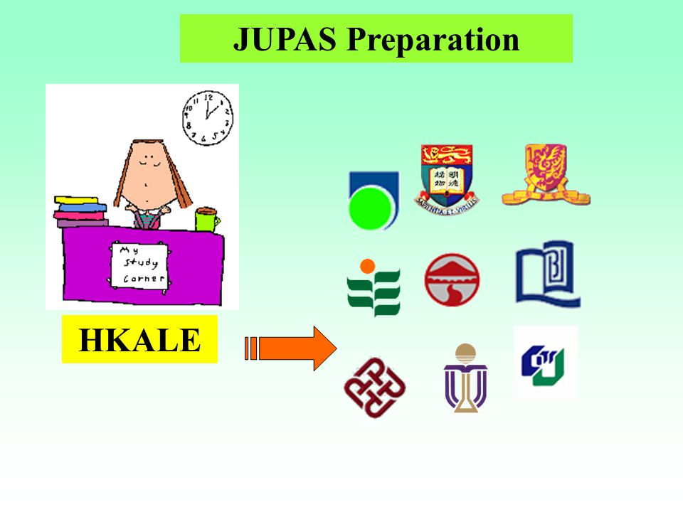 JUPAS Preparation HKALE