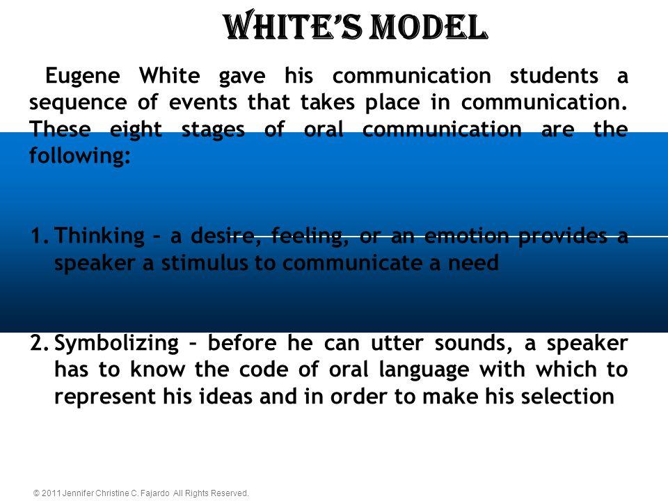 WHITE'S Model