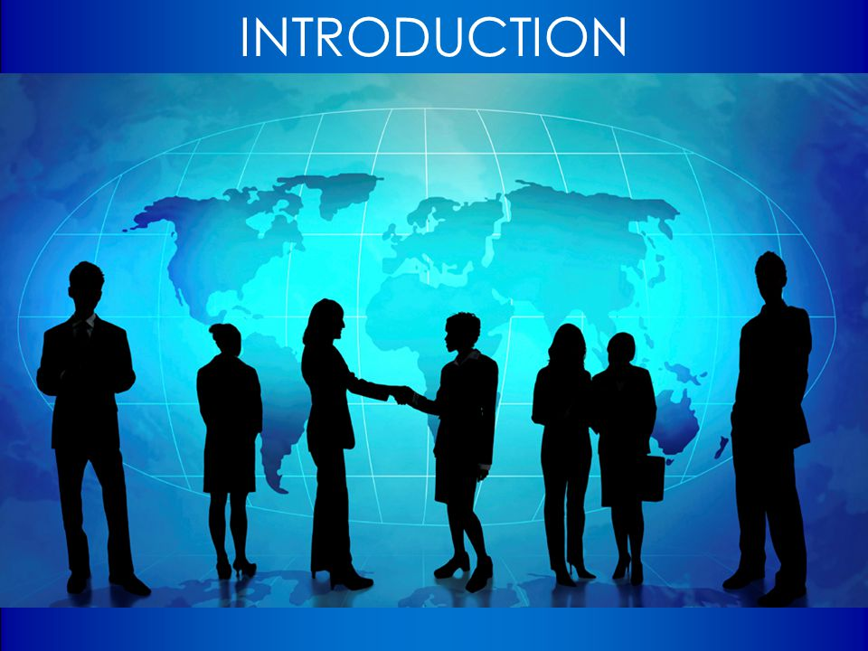 INTRODUCTION So, let's get to know one another….. Taking turns, please let us know the following: What is your name