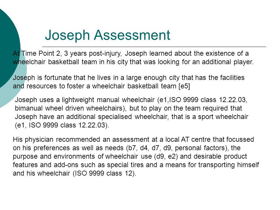 Joseph Assessment